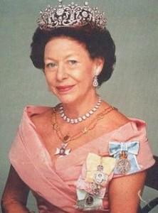 Princess Margaret - wearing three family orders