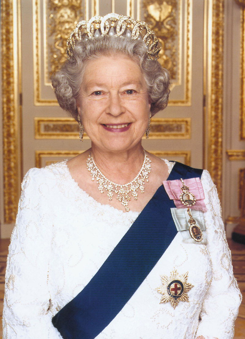 Queen of Great Britain. The Royal Family 77