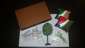 Garden in a Book - supplies